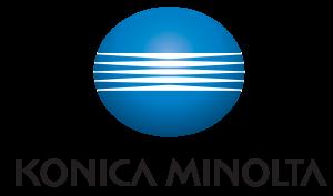Konica Minolta 3D Logo vertical positiv