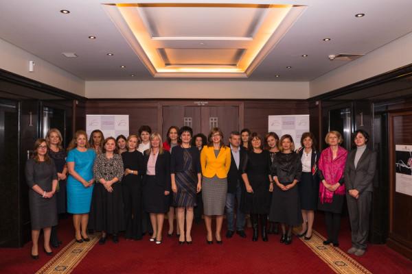 Г-жа Екатерина Захариева – почетен член на Съвета на жените в бизнеса
