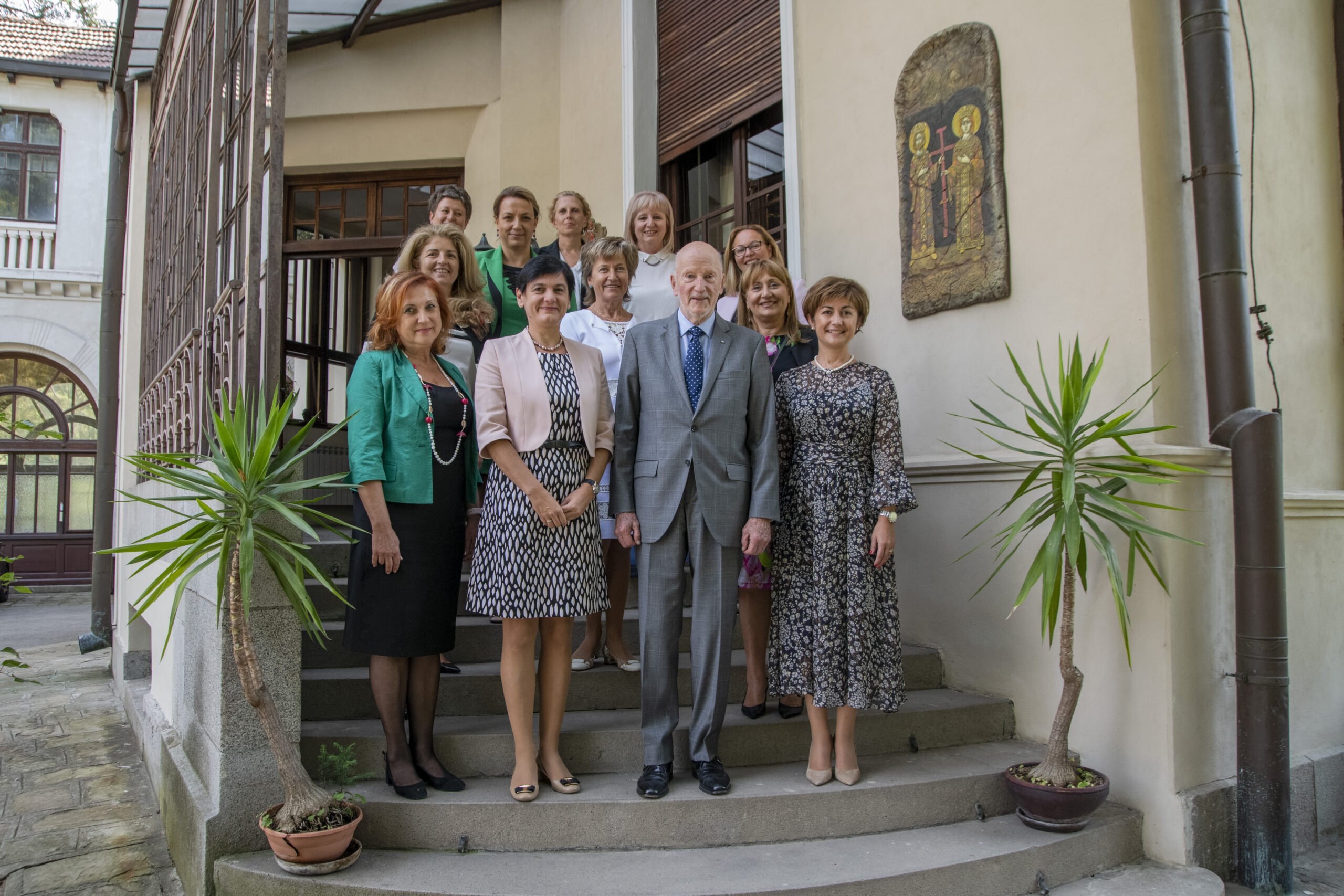 Среща на УС на СЖББ със Симеон Сакскобургготски